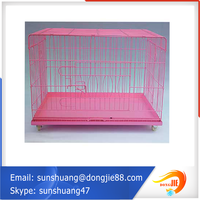 wholesale price pvc coated pet cages, dog crate