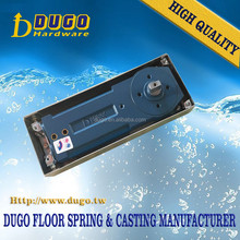 120KG Floor Spring, Glass Door Hardware Accessories Double Cylinder Hydraulic Two Speed Control Door Closer Pistons DUGO 1800-2