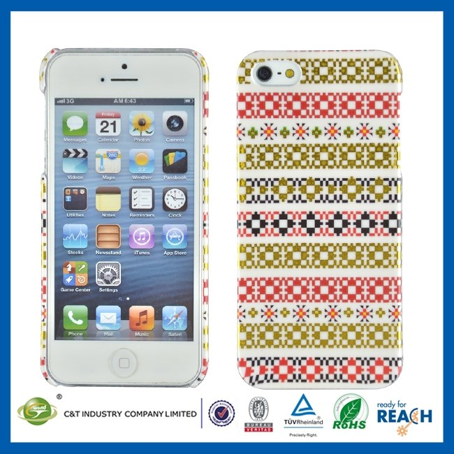 Universal Mobile Phone 3d sublimation case for iphone 5c