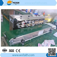 Plastic Bag Continuous Heat Band Sealer FRD-1000 ink sealing machine