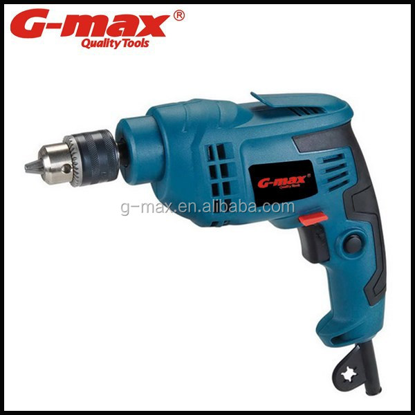 G-max Power Tools 10mm Electric Drill Manual Impact Drill GT12259