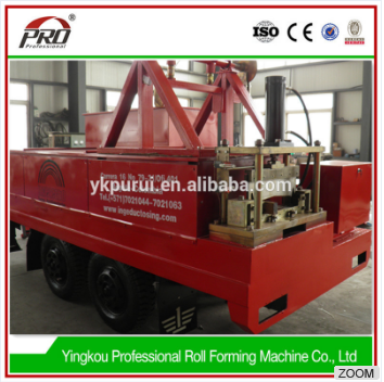 mobile roof forming rolling tile machine
