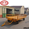 airport trailers 20ft container platform trailer,airport cargo trailer