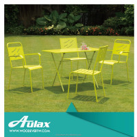 Wholesale outdoor picnic folding chair steel table furniture