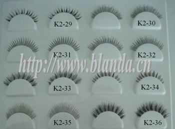 Lady gaga mink fur eyelashes
