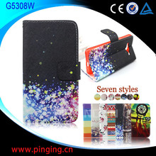 for Samsung Galaxy Grand Prime G5308W case, wallet leather flip cover case for Samsung Galaxy Grand Prime G5308W