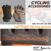 Racing raiding Custom logo design half finger Cycling Gloves