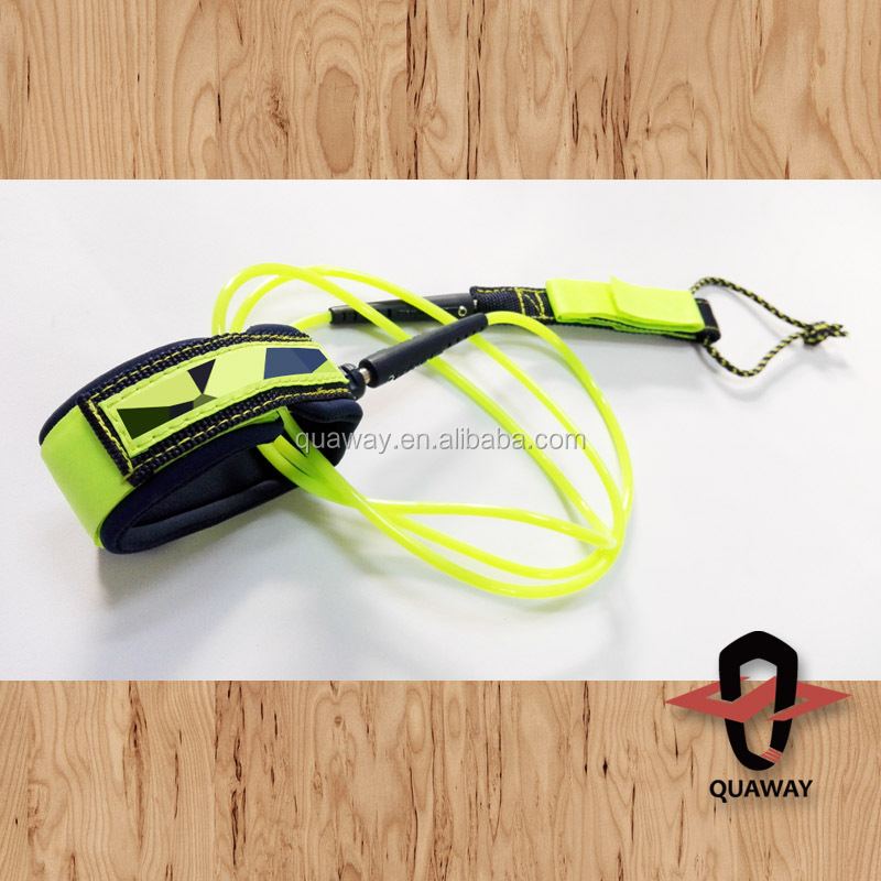 Hot Sale Coil Leash For Surfboard And SUP Board Bodyboard Leash
