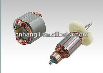 armature and stator