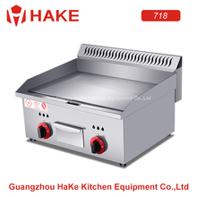 2018 best selling stainless steel counter top Gas griddle/flat plate
