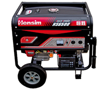 rated power 5KW economic gasoline generator with honda