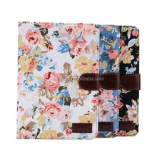 New Stand Flower Leather Case with Card Slot For iPad mini3 mini 3