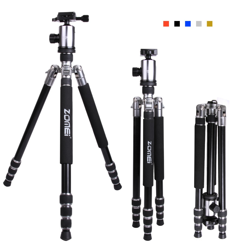 High quality heavy duty aluminum professional dslr video camera tripod stand for camera
