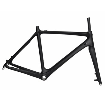 700C wheels Chinese cheap bicycle frameset carbon road bike cyclocross frame dengfu bikes Fm059