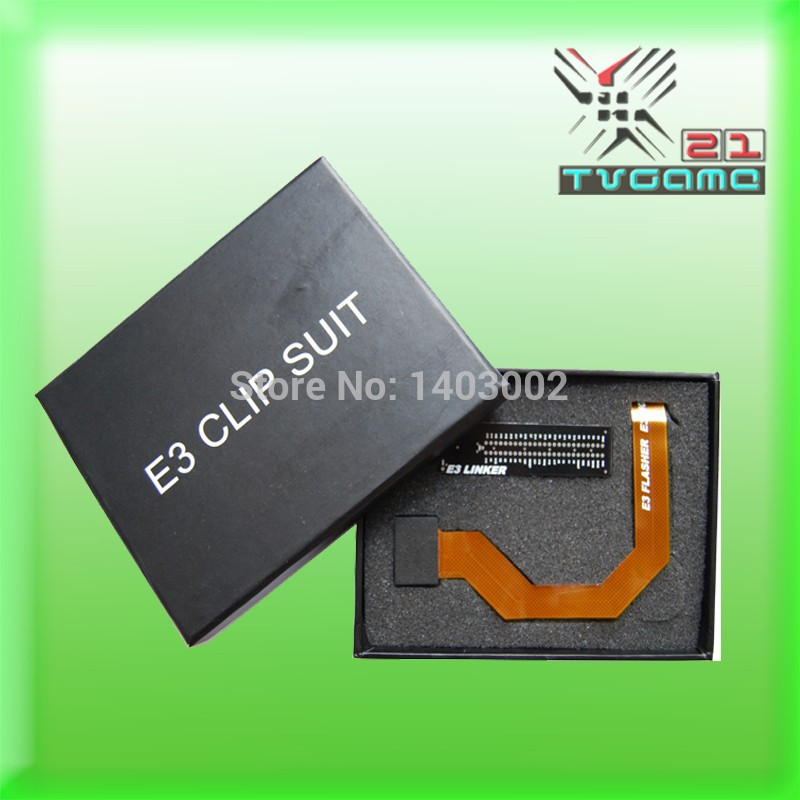 Original E3 CLIP SUIT FOR PS3 E3 FLEX CABLE,