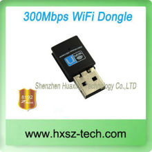IEEE 802.11b/n/g 300Mbps USB 2.0 Wireless WiFi Adapter WLAN Wireless Network Adapter Card for PC Laptop