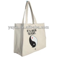 Personalized canvas wholesale tote bag