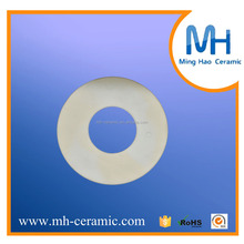 form stability zirconia ceramic sheet smooth round sheet