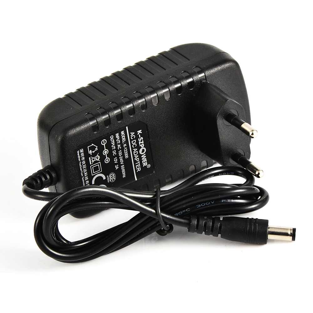 Shenzhen wholesale of US/EU/UK/AU plug wall mounted AC power <strong>adapter</strong> 12V 2A CCTV power supply CE Approved