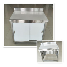China manufacturer wholesale stainless steel commercial kitchen cabinet