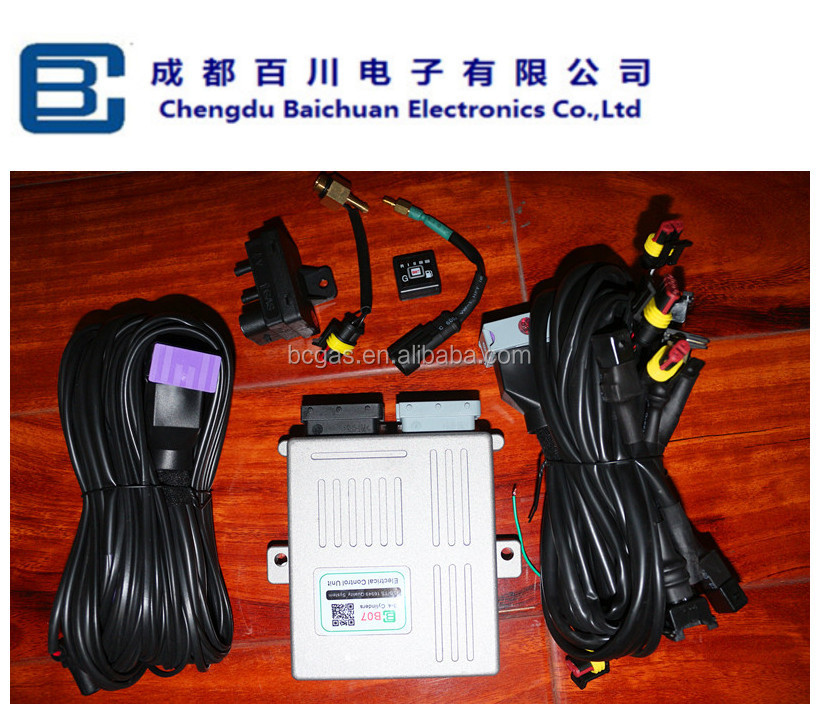LPG/CNG/NGV/GNV ecu for fuel gas conversion kits