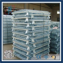 China Collapsible Steel Wire Mesh Cage for Storage and Transport