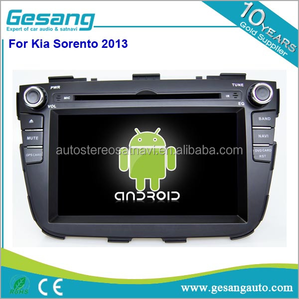 2GB ram 7 inch touch screen 2 Din Quad Core Auto Radio Android 5.1 Car Audio Stereo DVD GPS Navigation for Kia Sorento 2013
