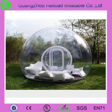 Camping transparent clear bubble inflatable tent for party or wedding or rent