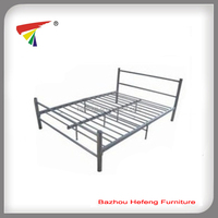 Double metal bed frame modern bedstead bedroom furniture