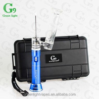 G9 pen wax best selling portable G9 brand electronic nail temperature control G9 H-Enail ceramic nail