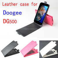 Original Up-Down Flip PU Leather Case For Doogee Discovery DG500