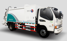Hydraulic Lifter Garbage Truck