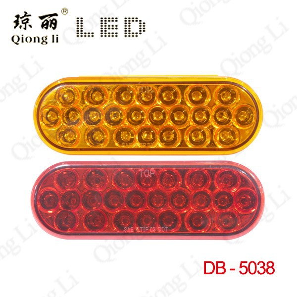 "Stop Turn Tail 6"" Oval LED Trailer Lights"