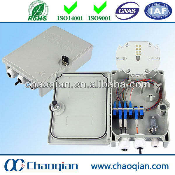 Excellent sealing outdoor ftth terminal box