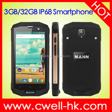 New design Android 5.1 Rugged IP68 Waterproof Smartphone Qualcomm MSM8926 Quad Core 4G LTE NFC mobile phone