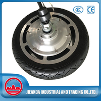 9.5 inch high power dc brushless electric motorcycle hub motor 60v 1000w
