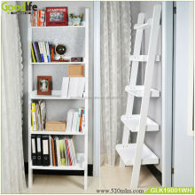Home furniture high quality wooden Ladder Shelve book shelf