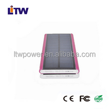 LT-A14 High quality universal power charger 5000 mAh solar power bank