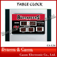 Promotional LED Table Clock