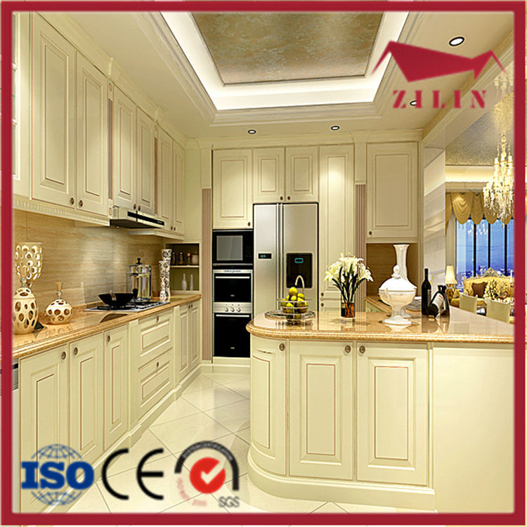 Best sale simple design high quality cheap price of solid for Inexpensive wood kitchen cabinets