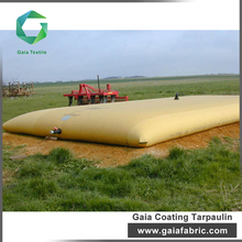 leading supplier of industrial high quality pvc tarpaulin in roll for agriculture water storage foldable tank