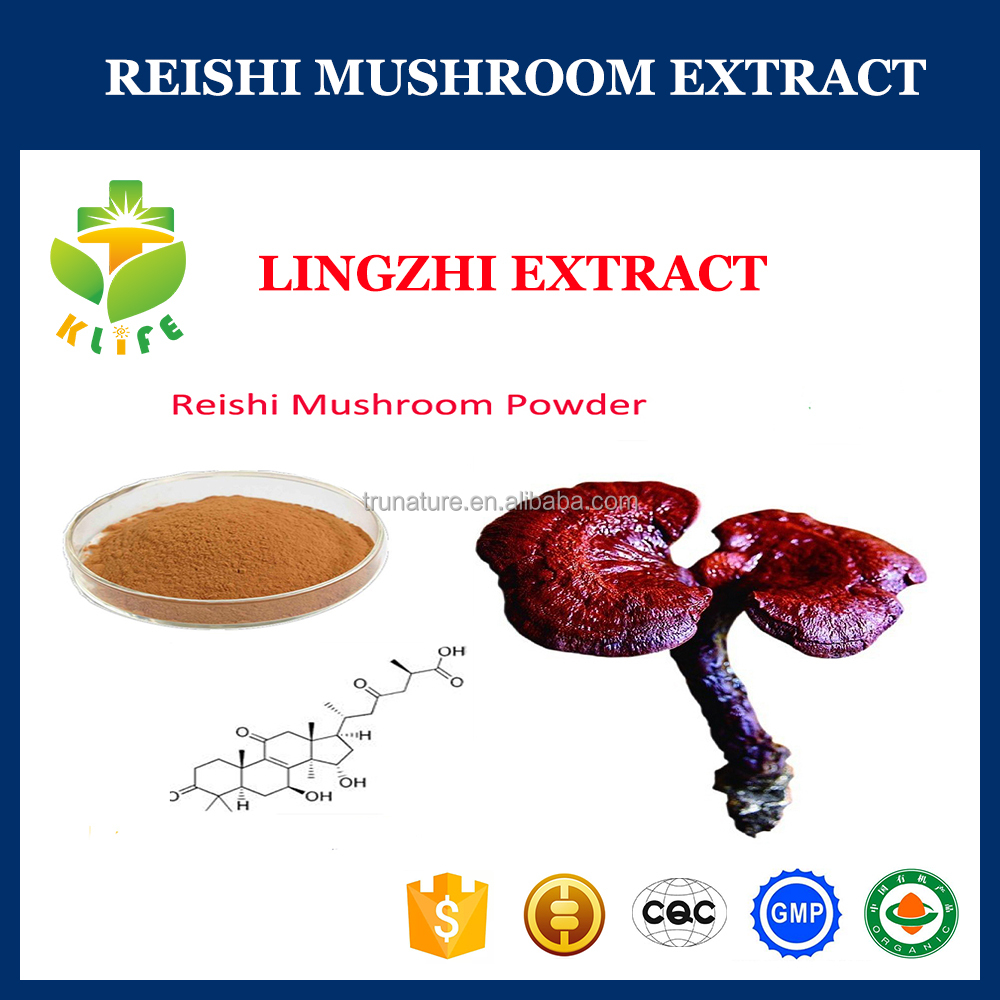health product reishi mushroom powder extract 30% polysaccharides water extract