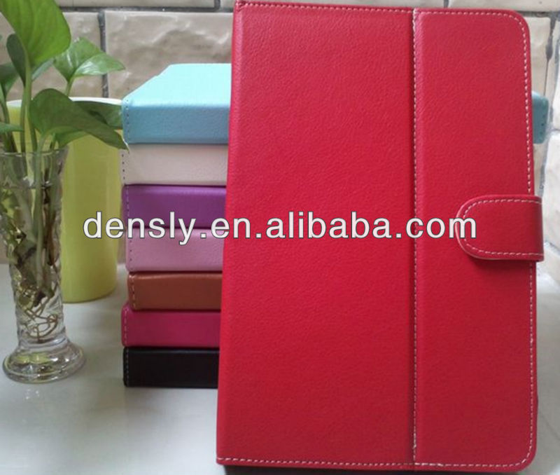 Factory direct leather case for 9 inch tablet pc