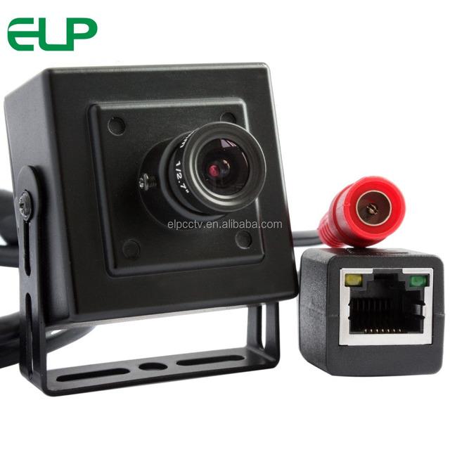 ELP 1280X720p 1.0 Megapixel Onvif H.264 Network Face Recognition Mini IP Camera for ATM Machine