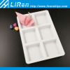 Thick Material Small Plastic Ice Cube Tray Packaging With Six Small Cells