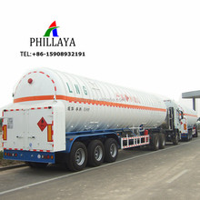 2018 NEW Liquid Natural Gas Road Tanker 3 Axles LNG Tank Trailer For Sale