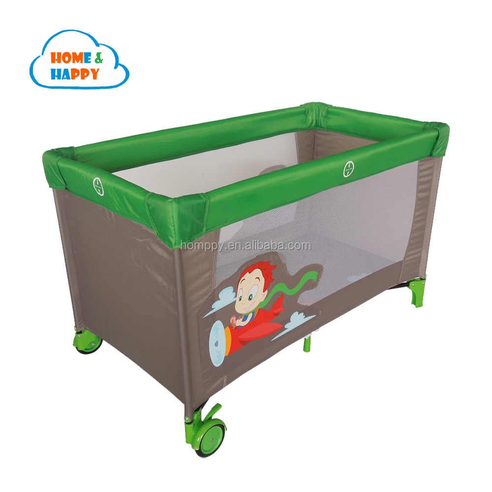 Portable baby playpen for travel