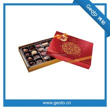 Christmas chocolate paper present box cardboard packaging box