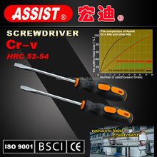ASSIST screwdriver bits S2 OR CR-V material with PP handle non-slip design magnetic screwdriver