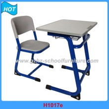 Cheap Classroom Single Desk and Chair School Furniture Guangzhou